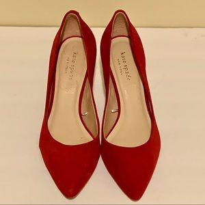 NEW Kate Spade Suede heels size 6.5